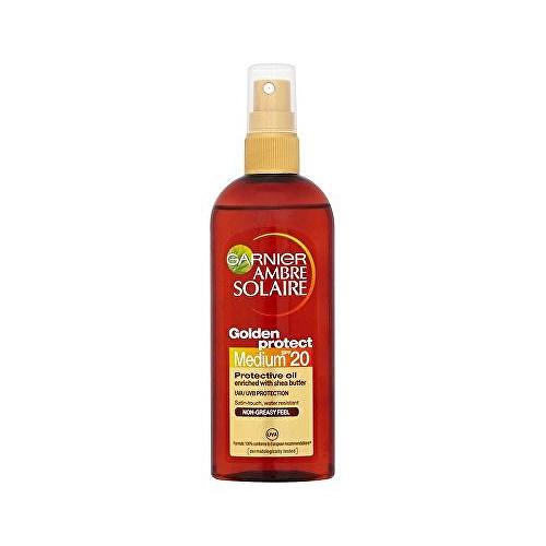 Garnier Ambre Solaire Golden Protect Sun Oil with Tan Enhancer & Satin Touch SPF20 150ml