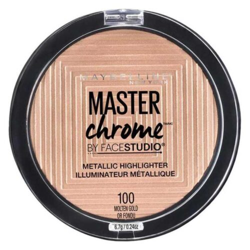 Maybelline Master Chrome Metal 100 Molten Gold