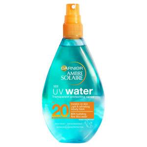 Garnier Ambre Solaire UV Water Clear Sun Cream Spray SPF20 150ml