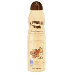 Hawaiian Tropic Satin Protection Sun Protection Continous Spray Spf30 220ml