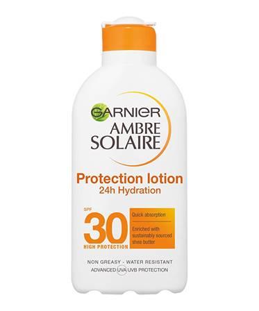 Garnier Ambre Solaire Sun Protection Lotion Ultra Hydrating SPF30 200ml