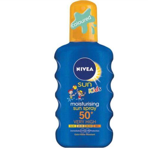 Nivea Sun Kids Moisturising Spray SPF50+ 200ml