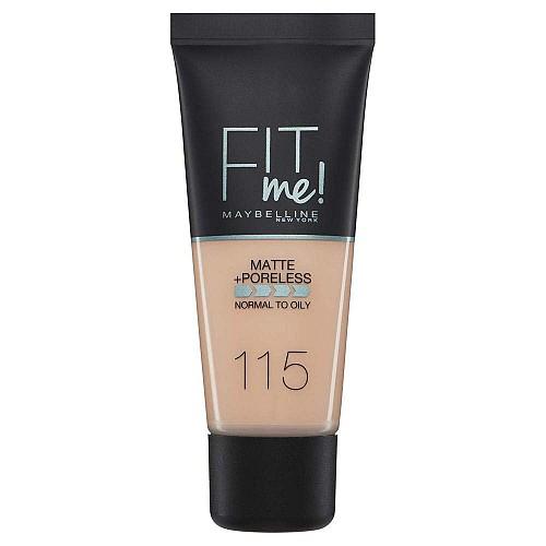 Maybelline Fit Me Matte + Poreless Foundation 115 Ivory 30ml