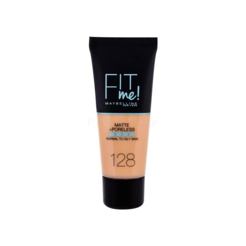 Maybelline Fit Me Matte + Poreless Foundation 128 Warm Nude 30ml
