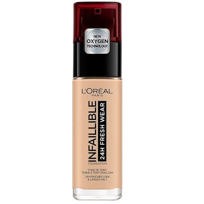 L'Oreal Infaillible 24H Fresh Wear 125 Natural Rose 30ml